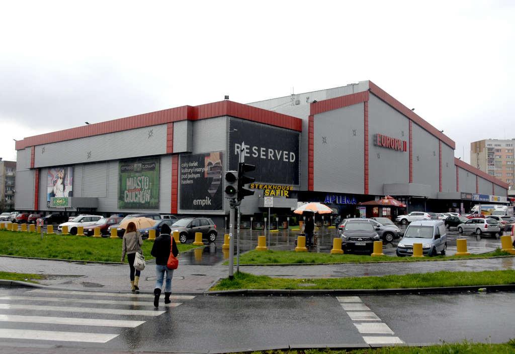 centrum handlowe Europa II Nowy Sącz Twój Sącz