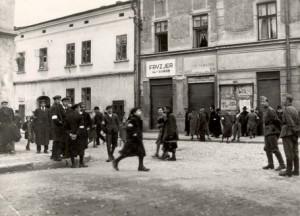 Getto w Nowym Sączu 1940 r.