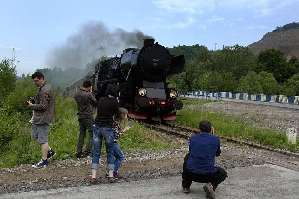 przejazdy pociągami retro Małopolska 2016