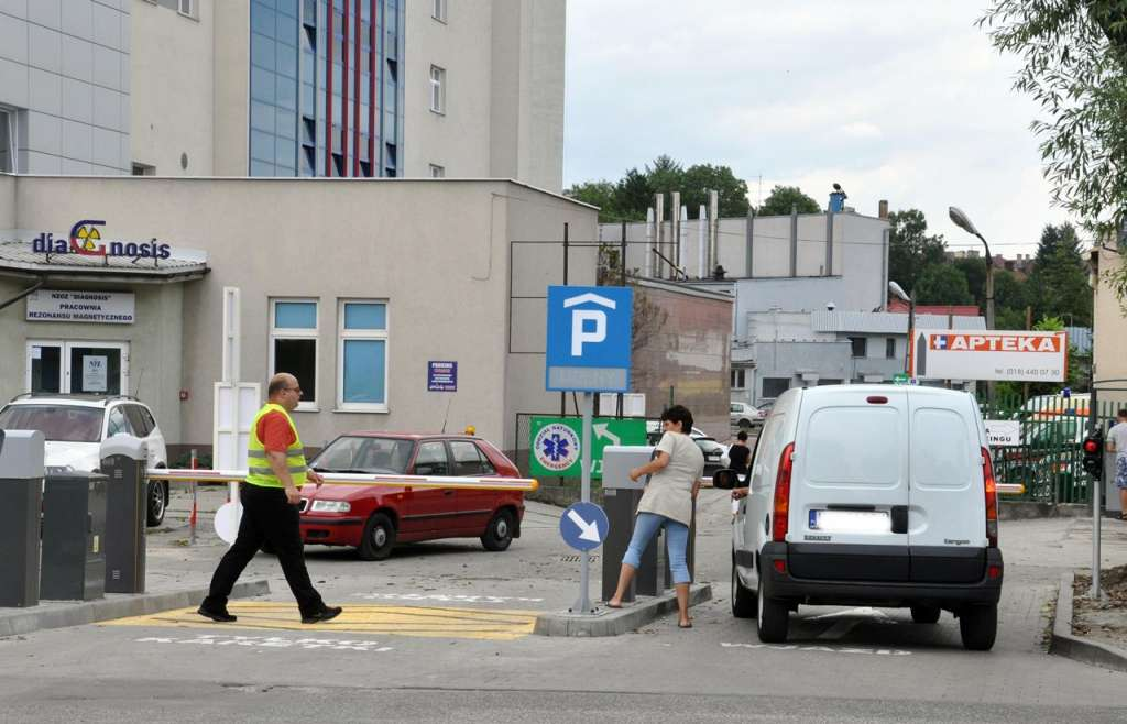 szpital Nowy Sącz parking Twój Sącz