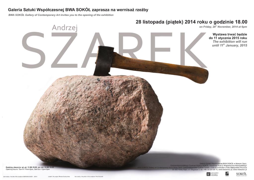 Andrzej Szarek - plakat