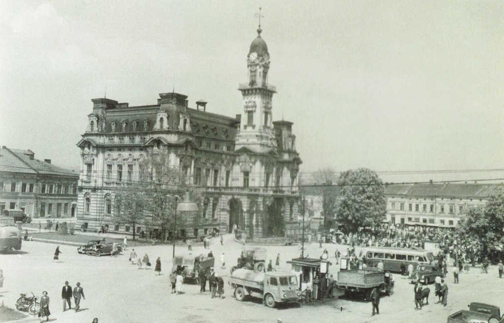 Nowy Sącz na starej pocztówce