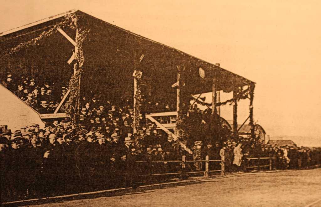 przedwojenny stadion Sandecji