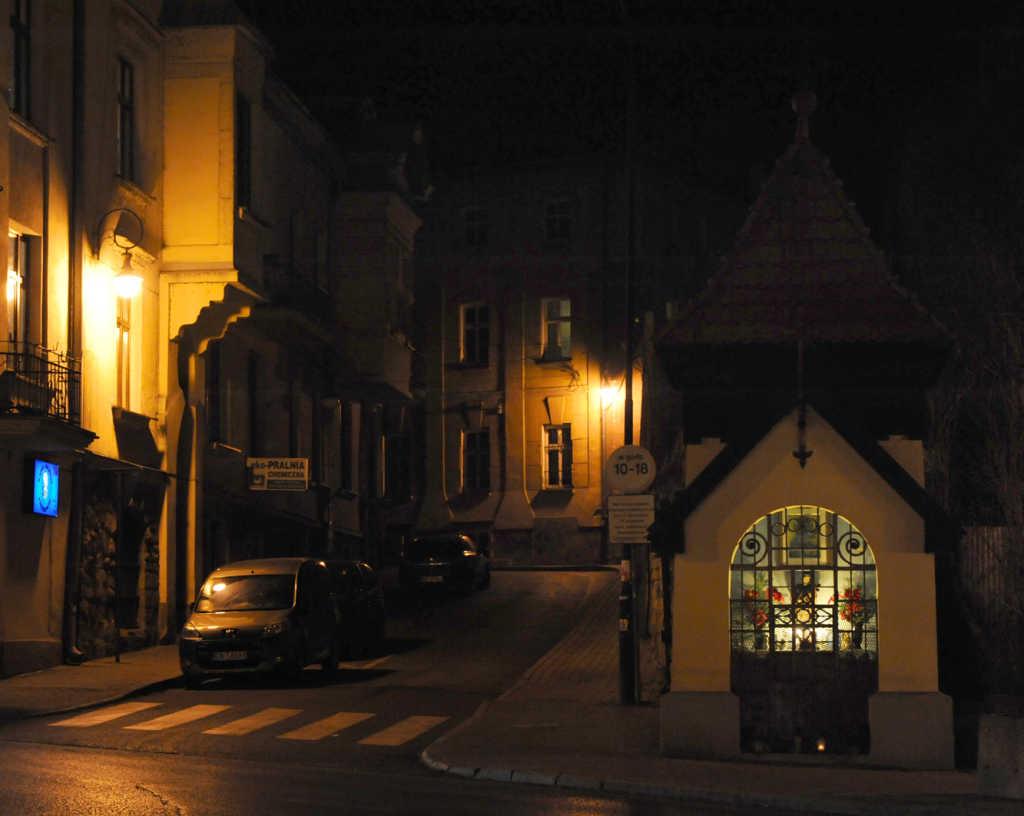 kapliczka św. Nepomucena Nowy Sącz