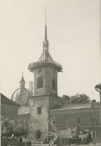 wieza franciszkanow w Nowym Sączu