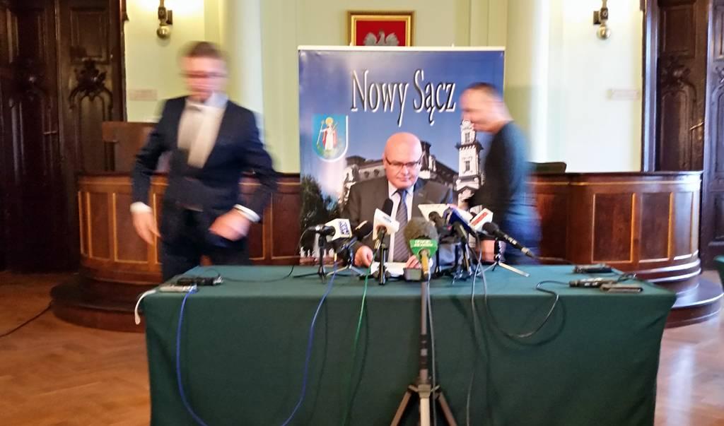 Ryszard Nowak o drodze Brzesko Nowy Sącz
