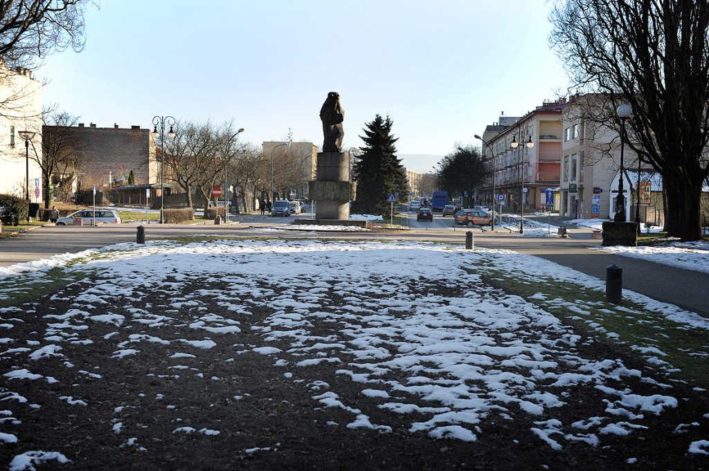 pomnik Mickiewicza Nowy Sącz
