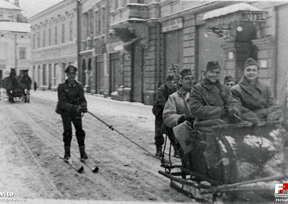 Jagiellońska Nowy Sącz okupacja niemiecka