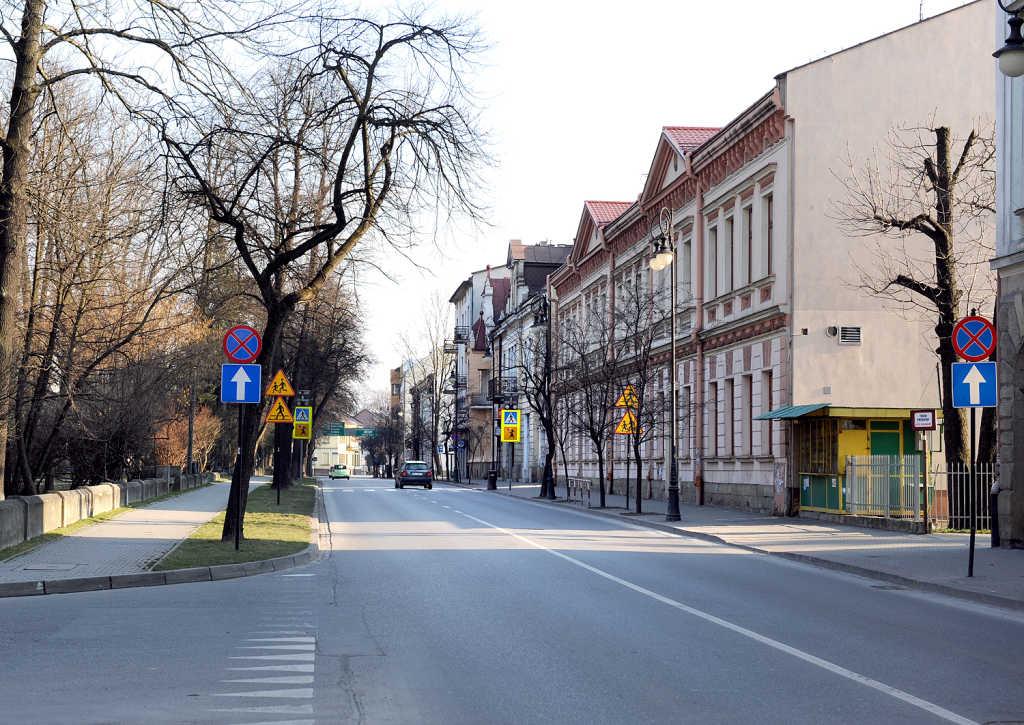Jagiellońska w Nowym Sączu
