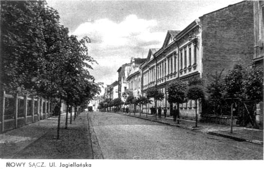 ul. Jagiellońska Nowy Sącz