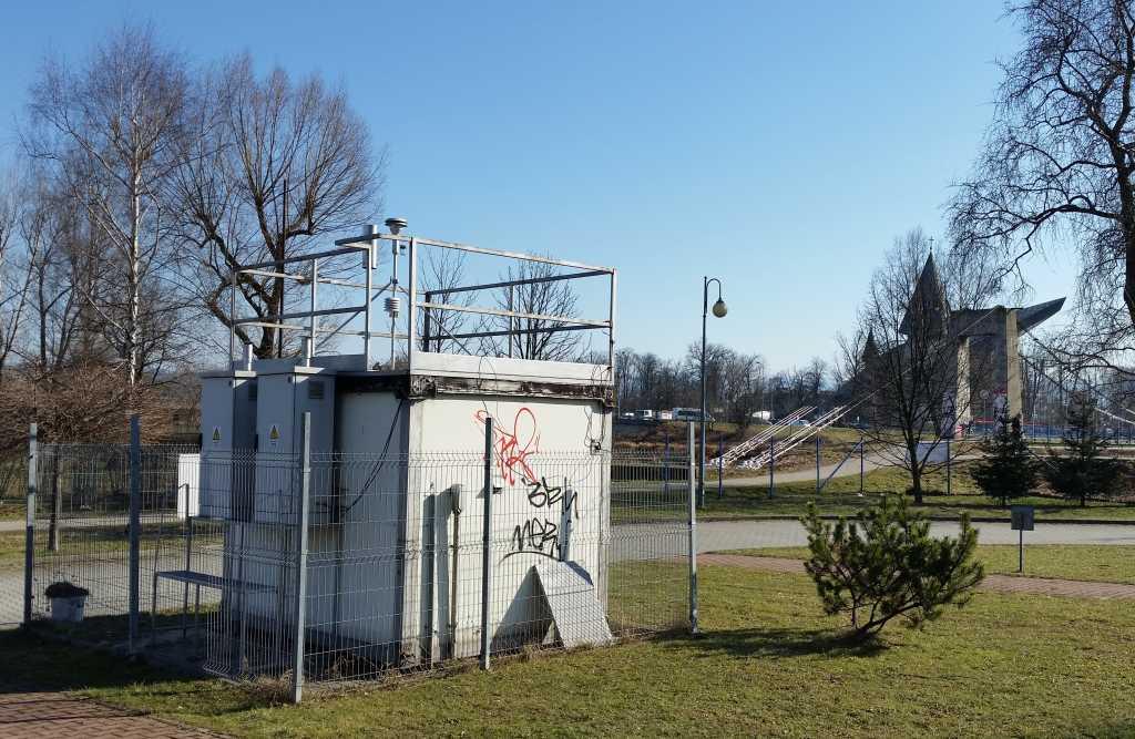 stacja monitoringu powietrza