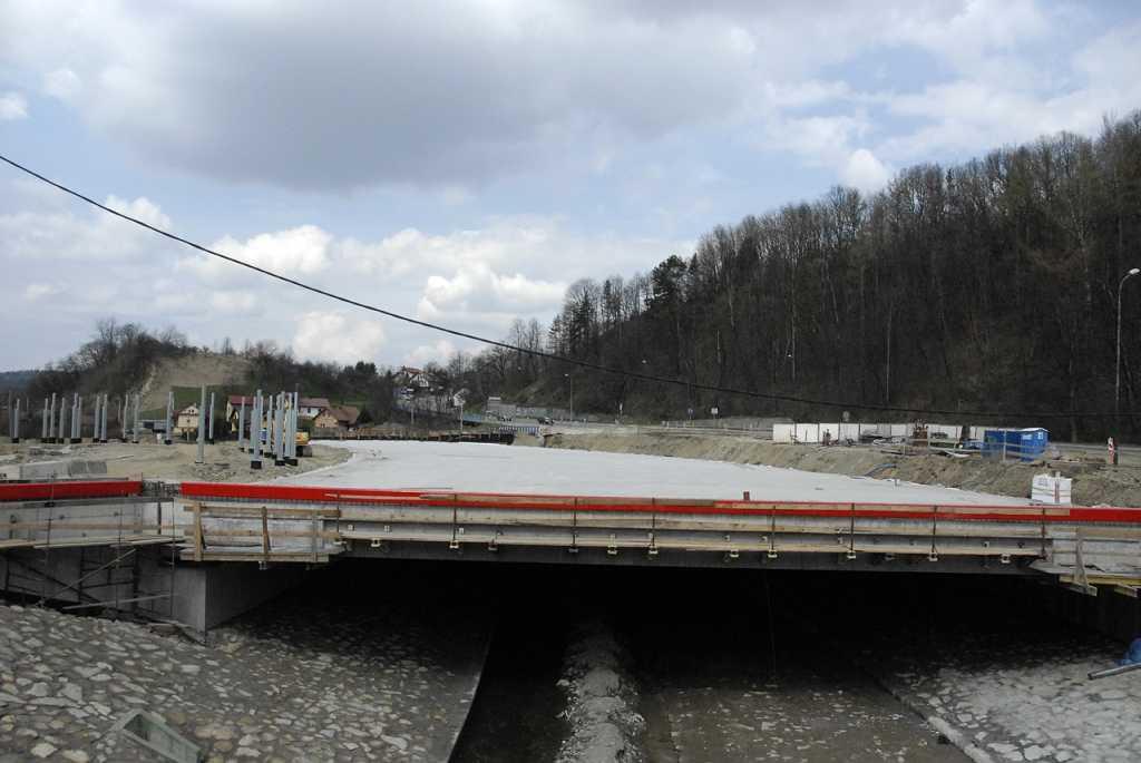 ul. Tarnowska most na Łubince