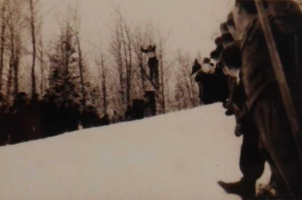 skocznie narciarskie w Nowym Sączu - zawody 1949