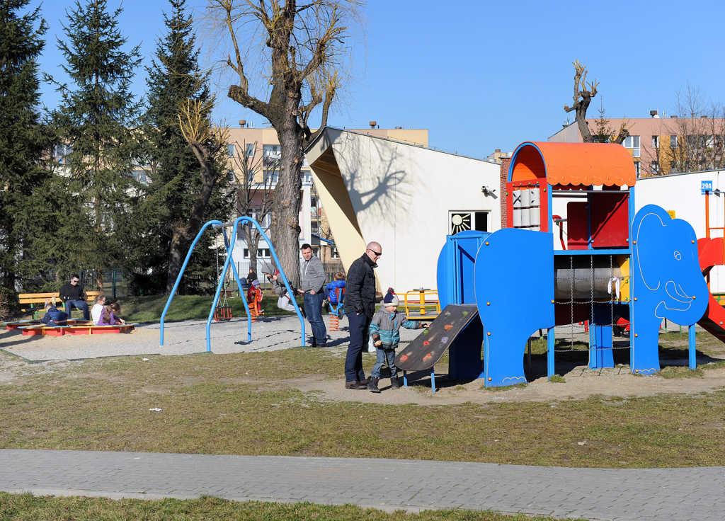 wioska indiańska plac zabaw Milenium