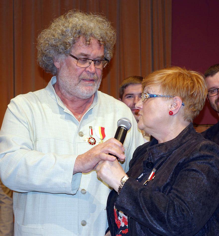 Barbara i Aleksander Porzuckowie