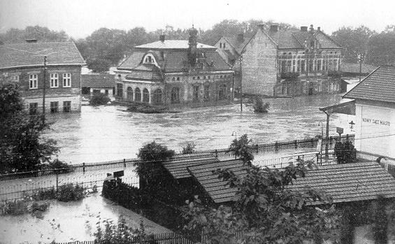 Nowy Sącz Wólki powódź 1934