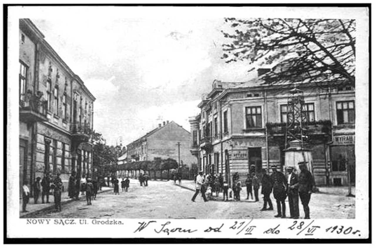 Nowy Sącz ul. Grodzka apteka Pod Gwiazdą