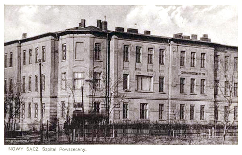 szpital nowy sącz lata 30.
