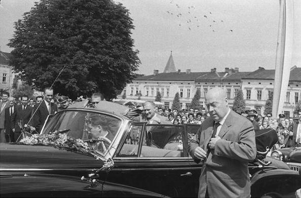 Jóżef Cyrankiewicz, Nowy Sącz 1960