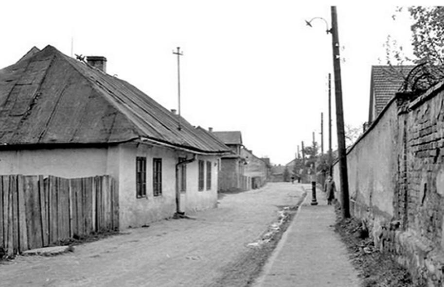 ulica Matejki Nowy Sącz lata 60