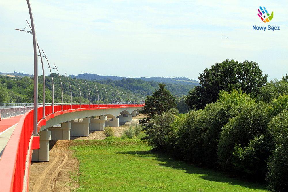 Fragment Obwodnicy Północnej - most na Dunajcu