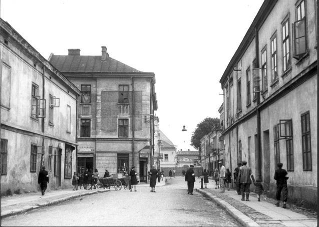 Nowy Sącz getto ul. Franciszkańska