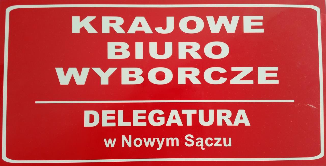 listy kandydatów okręg 14 Nowy Sącz