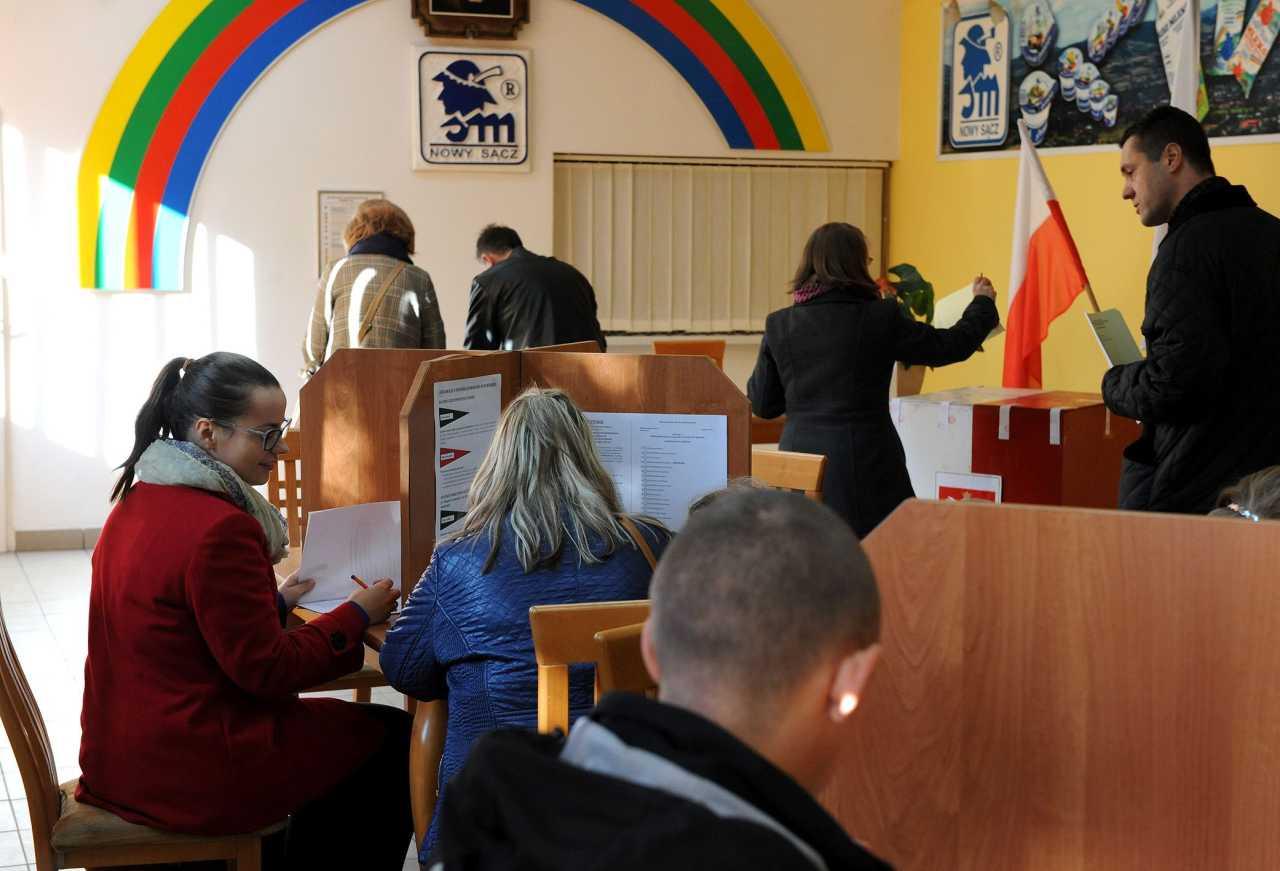 wybory parlamentarne Nowy Sącz 2015 OKW 6