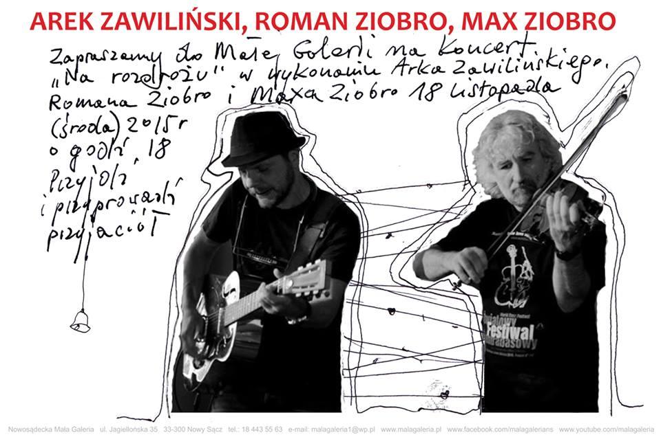 Arek Zawiliński Roman Ziobro