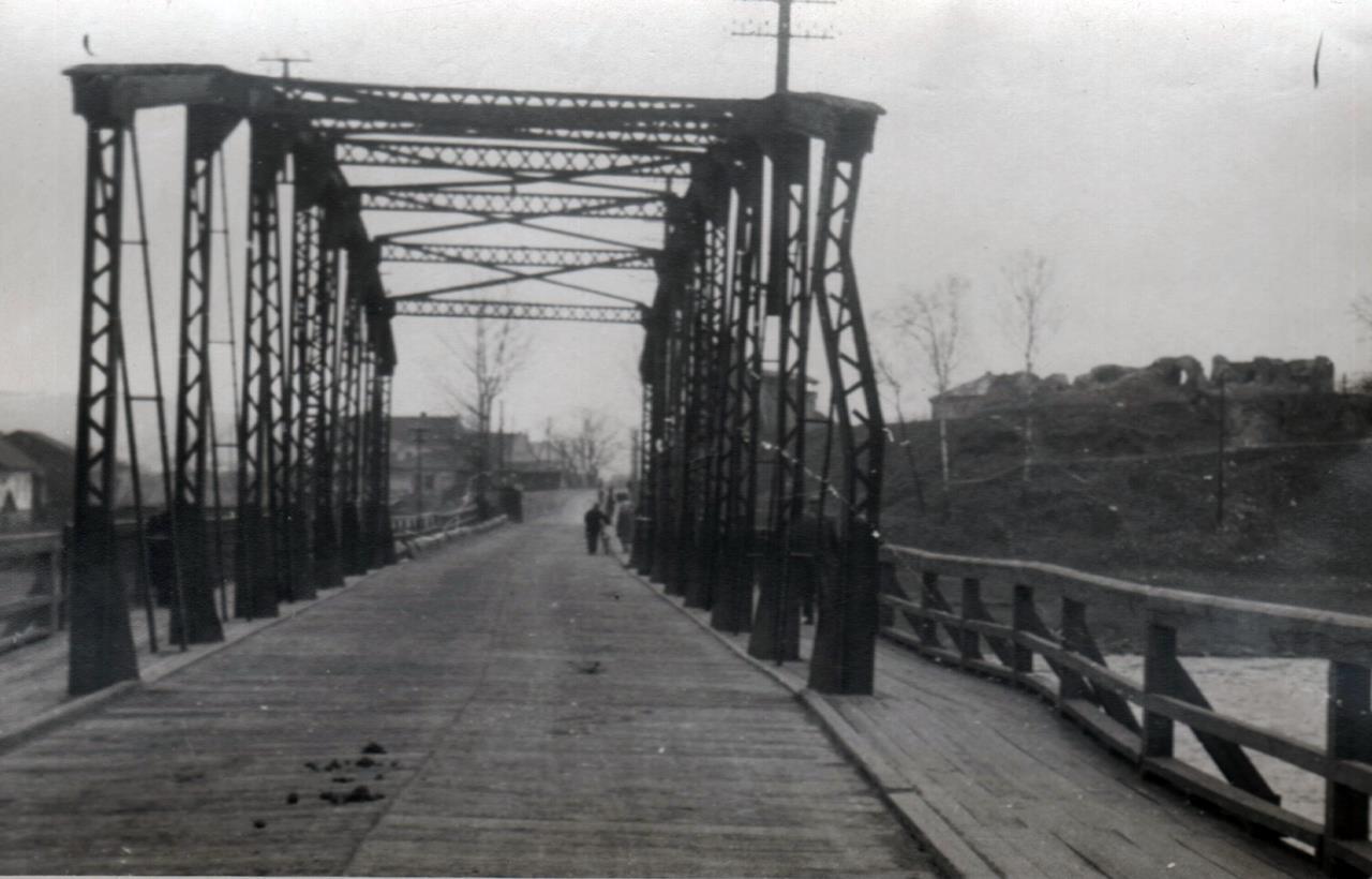 Most heleński Nowy Sącz lata 50