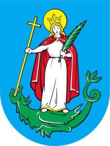 Nowy Sącz znane kobiety herb Nowego Sącza św. Małgorzata