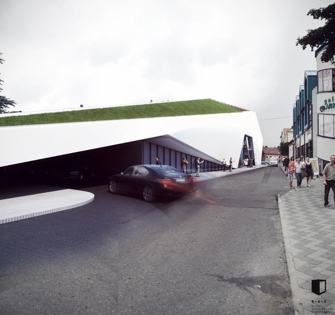 MDA Nowy Sącz projekt dworca 4