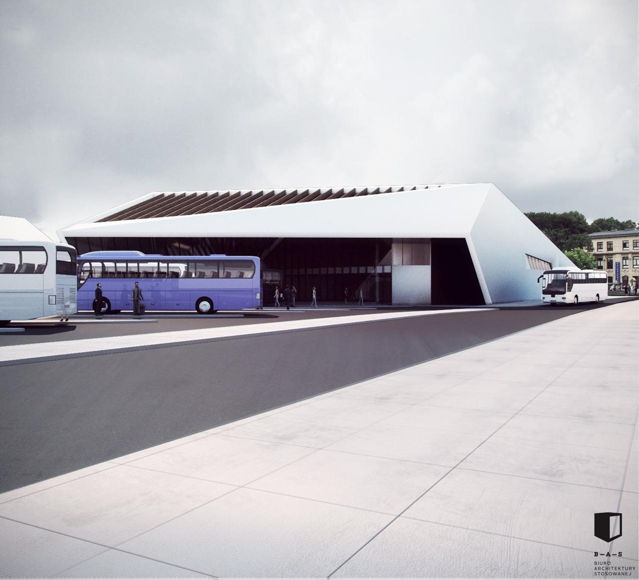 MDA Nowy Sącz projekt dworca 2