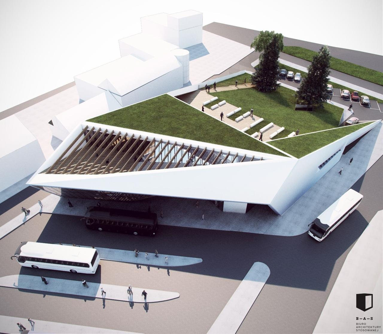 MDA Nowy Sącz projekt wizualizacja
