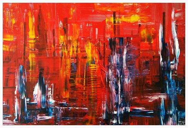 malarstwo abstrakcyjne Tadeusz Zych