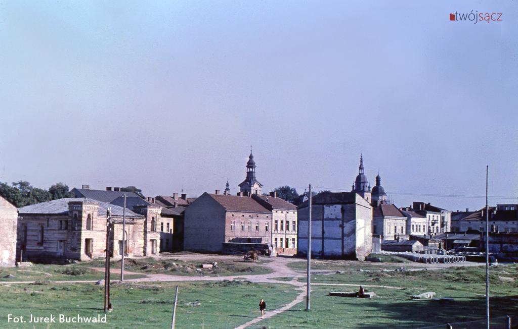 Nowy Sącz w kolorze 1956 fot. Jurek Buchwald