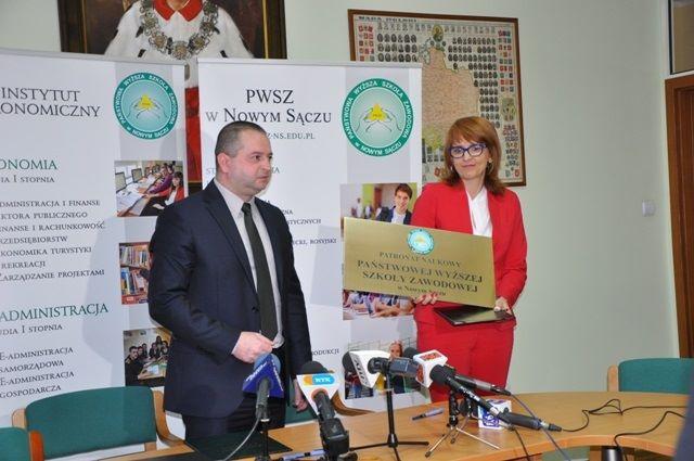 Mariusz Cygnar rektor PWSZ w Nowym Sączu