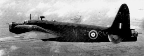 Vickers Wellington RAF