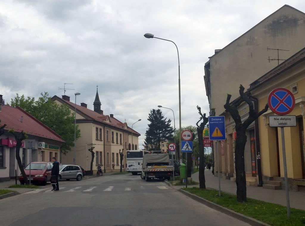Miejski Zarząd Dróg Nowy Sącz ul. Długosza
