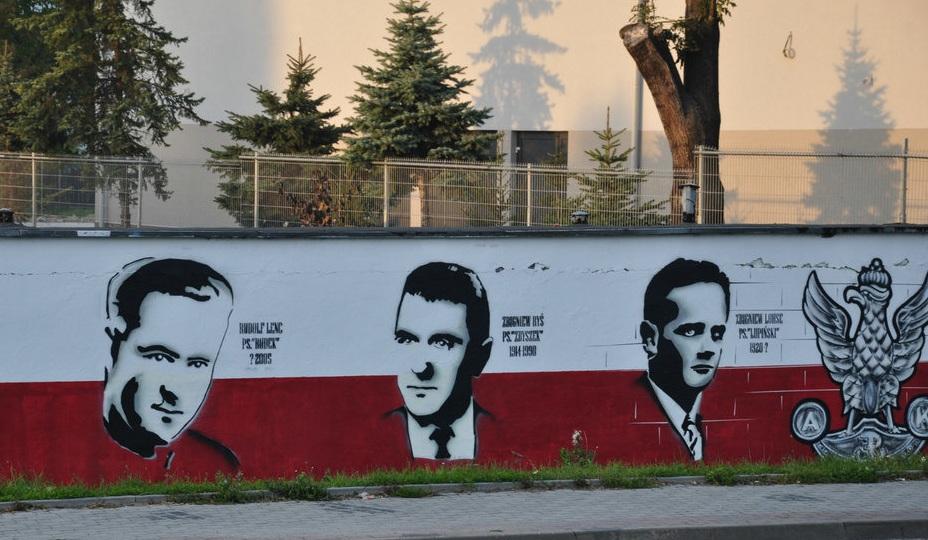 Jan Karski mural Nowy Sącz