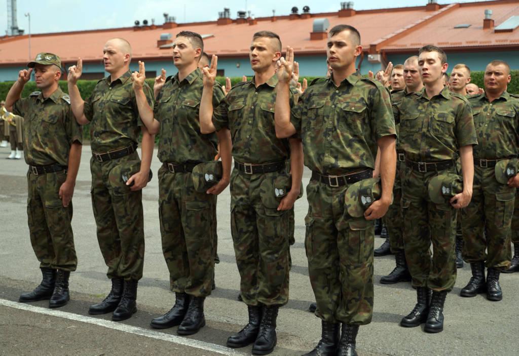 ślubowanie funkcjonariuszy Straży Granicznej Nowy Sącz 2016