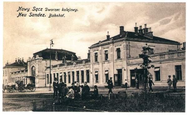Nowy Sącz dworzec kolejowy