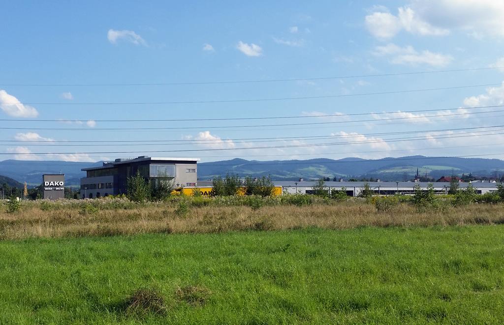 Fabryka Okien Dako - siedziba w Nowym Sączu