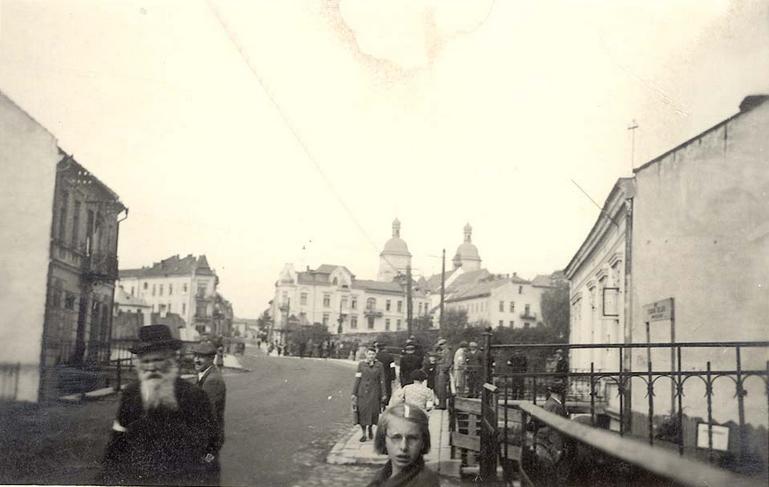 Nowym Sączu getto Lwowska