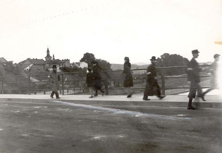most ul. Lwowska Nowy Sącz okupacja