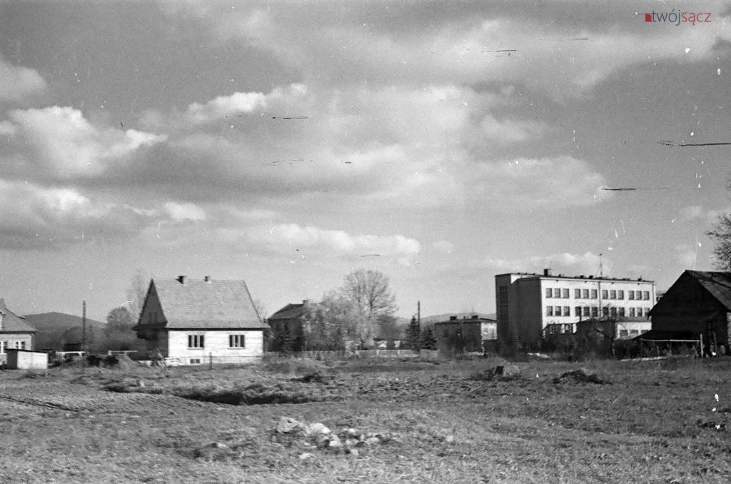 Zespół Szkół Ekonomicznych w Nowym Sączu w latach 50
