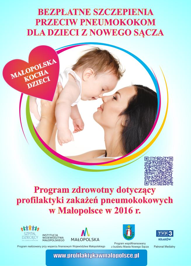 program profilaktyki zakażeń pneumokokowych w Małopolsce w 2016 r