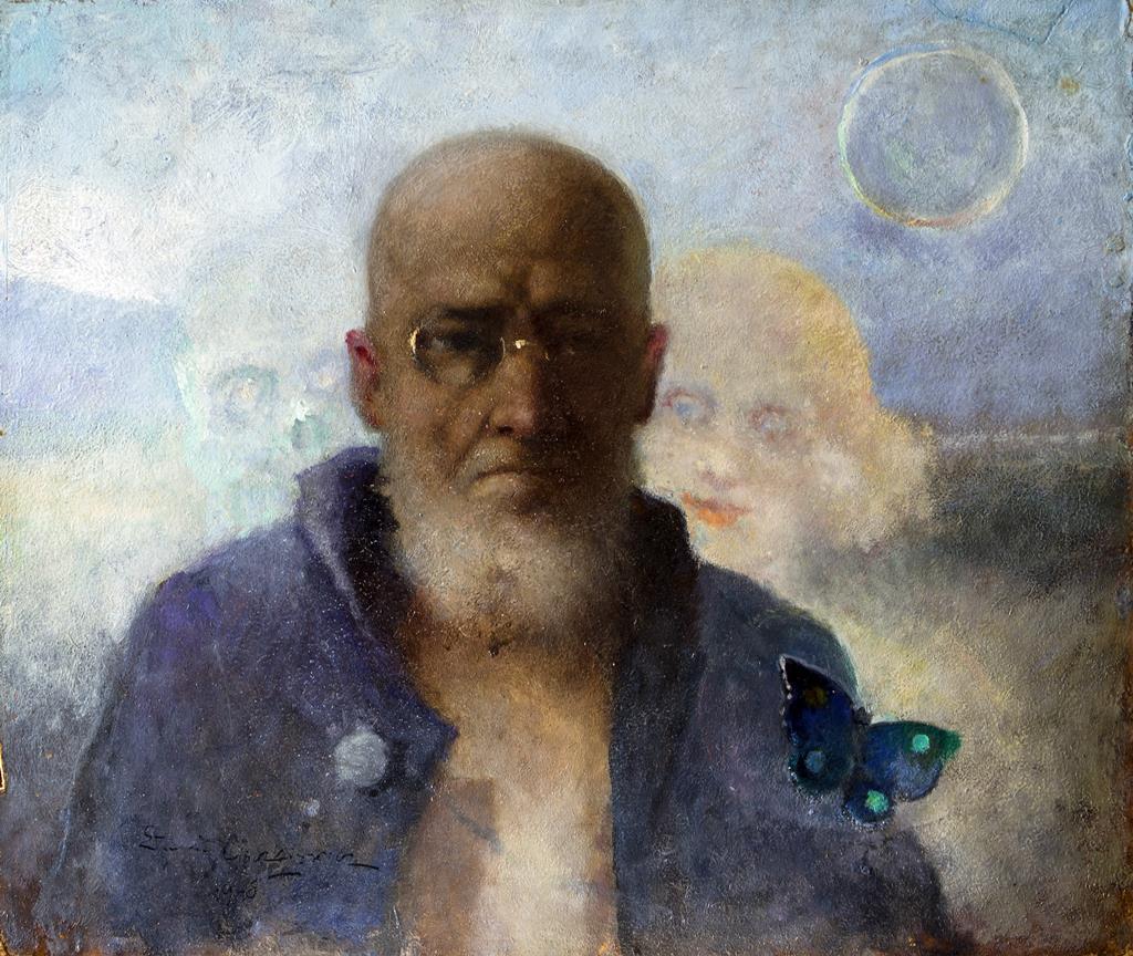 autoportret Edmunda Cieczkiewicza