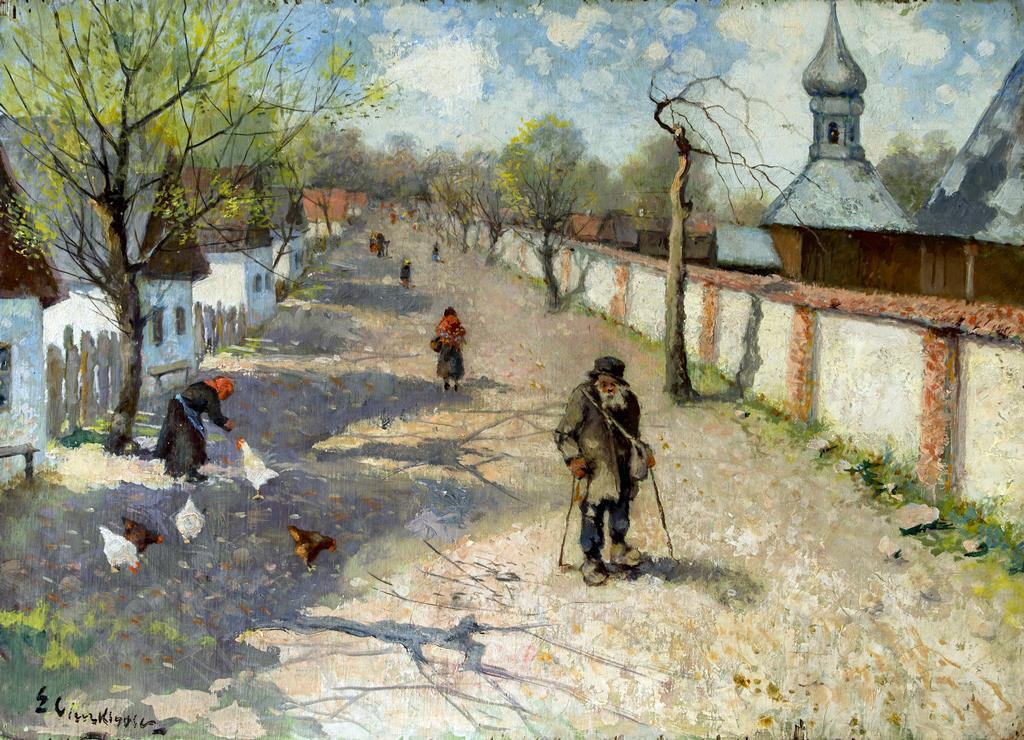 Edmund Cieczkiewicz Droga w Stadłach