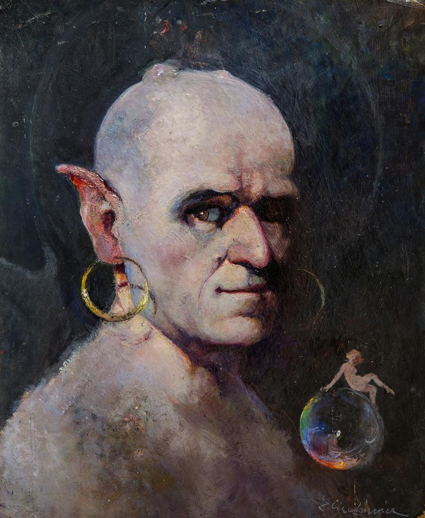 autoportret Cieczkiewicz
